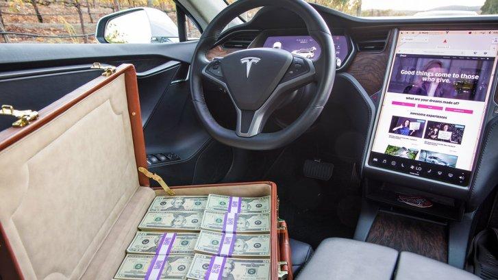 Omaze Tesla Sweepstakes