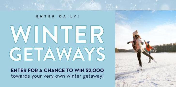 Midwest Living 2020 Winter Getaways Sweepstakes