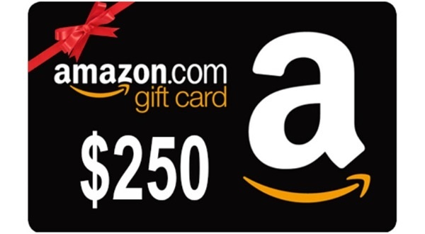 Amazon Gift Card New Year Giveaway