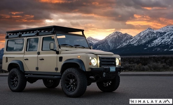 Omaze Land Rover Defender Sweepstakes