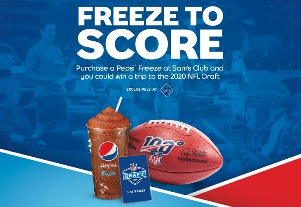 Pepsi Freeze Sweepstakes