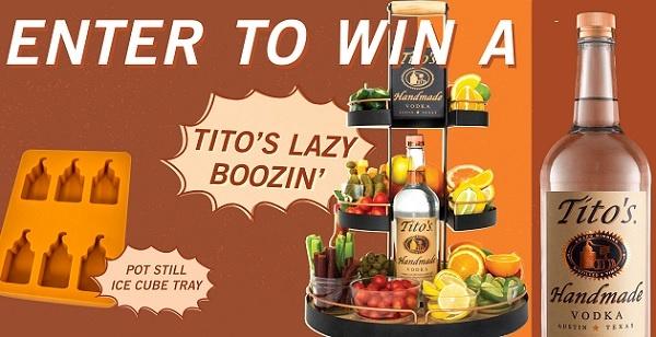 Titos Handmade Vodka Team Spirit Sweepstakes
