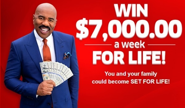 PCH $7000 A Week For Life Sweepstakes 2020