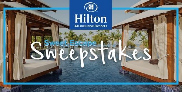 Hilton Resorts Sweet Escape Sweepstakes