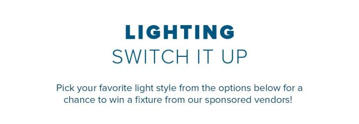 Lighting Switch It Up Giveaway