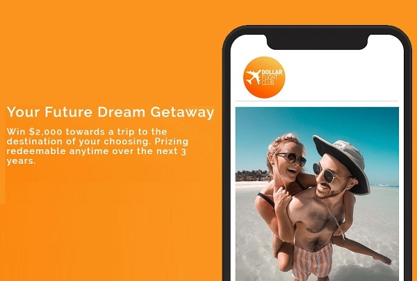 Dollar Flight Club Future Dream Getaway Sweepstakes