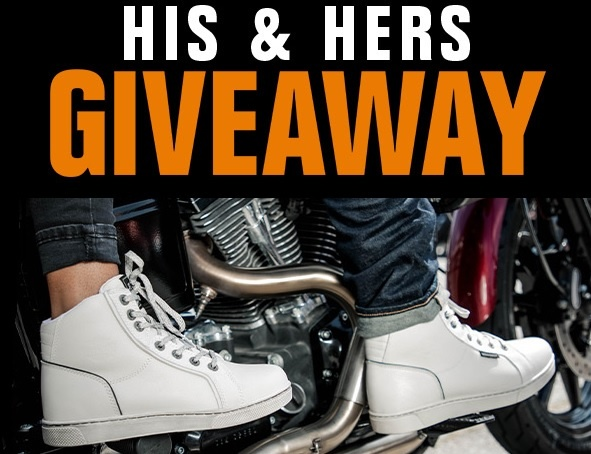 Harley-Davidson Footwear's 2020 His & Hers Giveaway