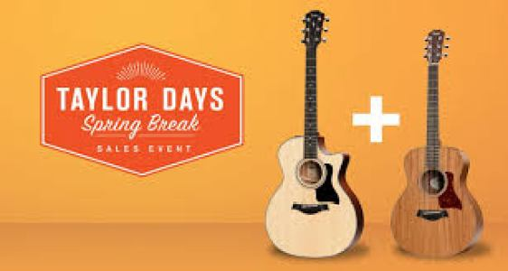 Arts Music Store Taylor Solid Body Guitar Giveaway