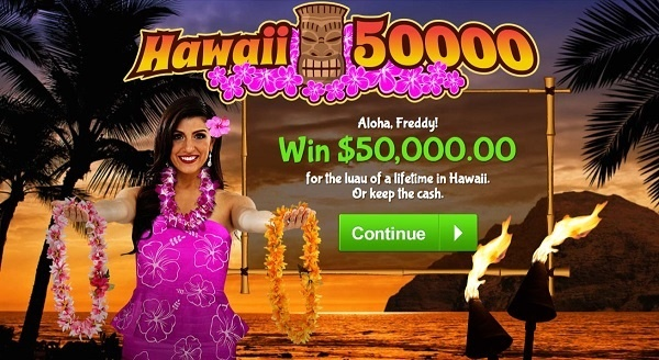 PCH.com $50000 Hawaii Vacation Sweepstakes