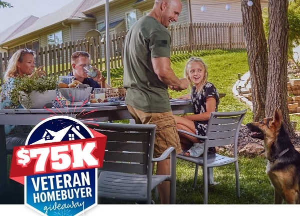 Realtor $75K Veteran Homebuyer Sweepstakes