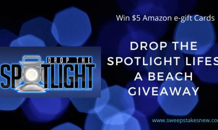 Drop The Spotlight Lifes A Beach Giveaway