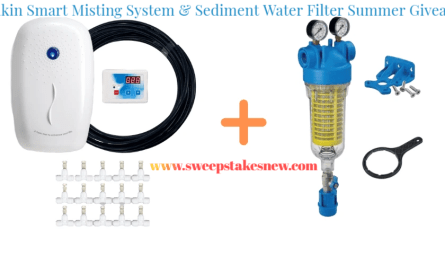 Rkin Smart Misting System & Sediment Water Filter Summer Giveaway