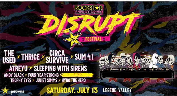 The Rockstar Energy Disrupt Festival Contest – Win Tickets
