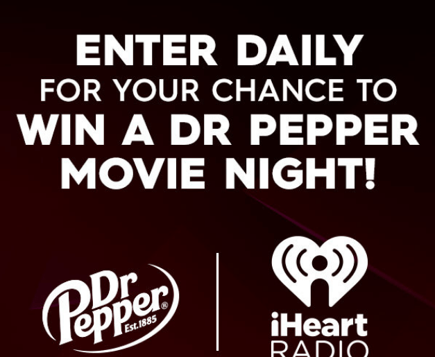 Sunny Dr Pepper Movie Night Sweepstakes
