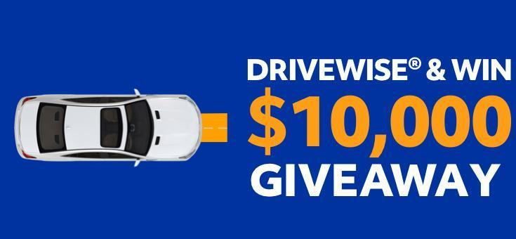 Allstate Drivewise & Win $10,000 Giveaway Sweepstakes – Win $10,000 Cash