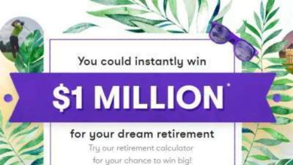 Your Million Dollar Stash $1M Instant Win Game