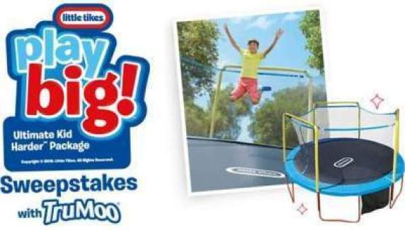 TruMoo Little Tikes Play Big Kid Harder Sweepstakes