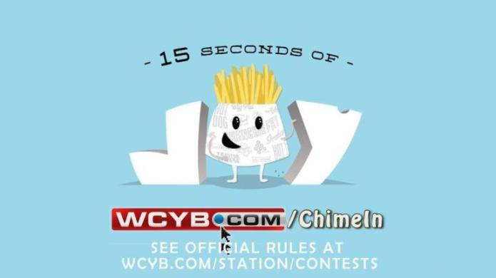 WCYB Pal's 15 Seconds of Joy Contest