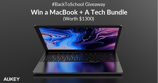 Aukey Back To School Giveaway