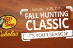 Bass Pro Shops 2019 Fall Hunting Classic Sweepstakes