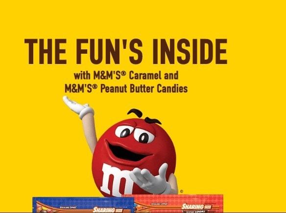 M And M Caramel And Peanut Butter Instant Win Game