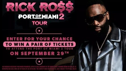Rick Ross Online Contest