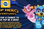 Viacom Pup Hero Adventures Contest – Win PEDIGREE Coupons