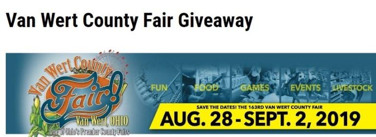 WANE.com Van Wert County Fair Giveaway