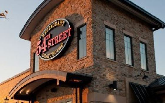 54th Street Grill Guest Survey Sweepstakes - Win Appetizer