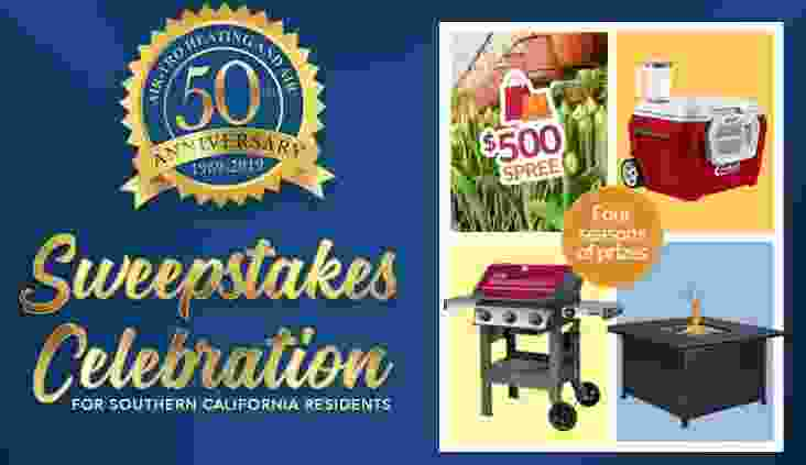 Air Tro 50th Anniversary Sweepstakes - Win Gift Card