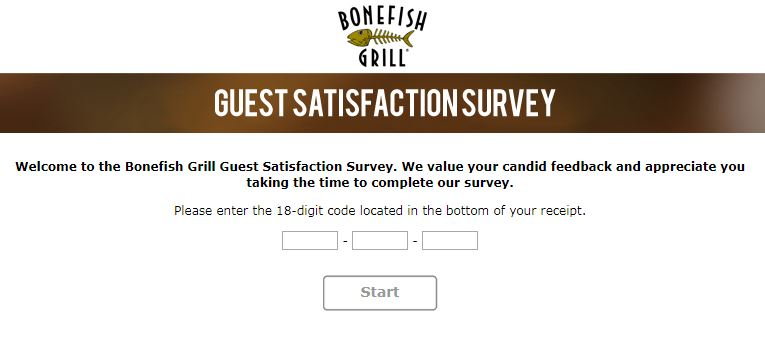 Bonefish Grill Guest Satisfaction Survey Sweepstakes - Win Cash Prizes