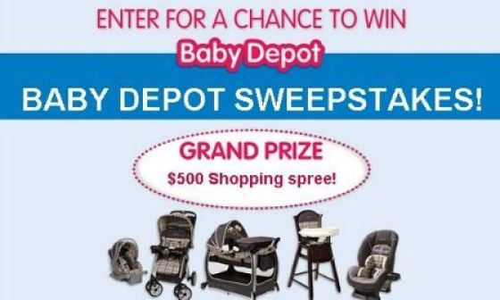 Burlington Baby Depot Shopping Spree Sweepstakes - Win Gift Card