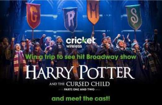 Cricket Wireless Harry Potter Sweepstakes - Win Tickets