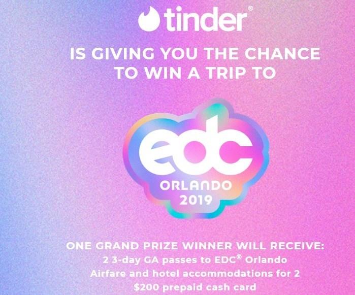 EDC Festival Orlando Flyaway Sweepstakes – Win Trip