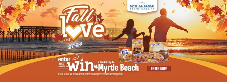 Entenmann Myrtle Beach Vacation Giveaways – Win Tickets