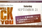 We Will Rock You Sweepstakes – Win Tickets