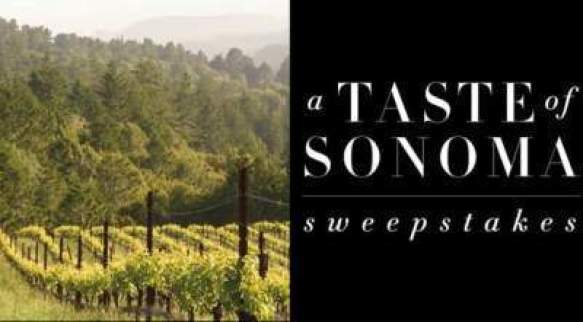 Frontgate Sonoma Getaway Sweepstakes - Win Trip