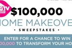 HGTV Magazine Home Makeover Sweepstakes - Win Cash Prizes