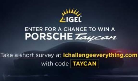 IGEL I Challenge Everything Sweepstakes - Win Check