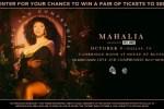 Mahalia Online Contest – Win Pair Of Tickets
