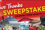 Marc's Give Thanks Sweepstakes - Win Gift Card