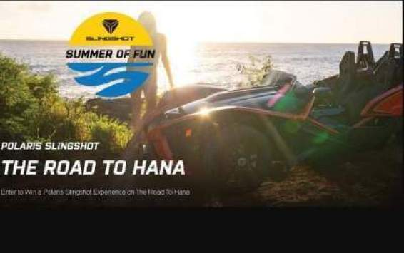 Polaris Slingshot Summer of Fun Sweepstakes - Win Gift Card