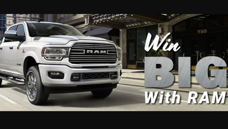 Prairie Win Big With RAM Contest - Win Gift Card