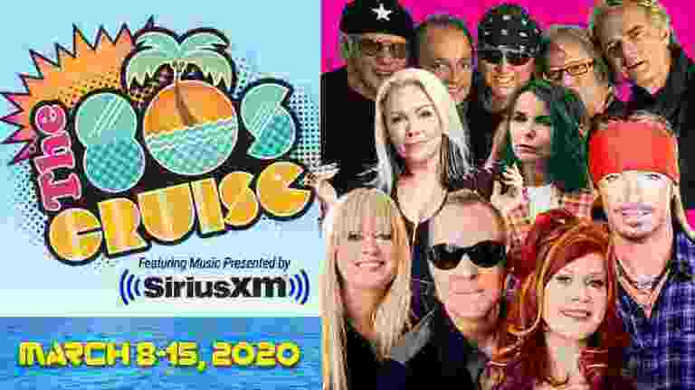 Sirius XM 80s Cruise 2020 Sweepstakes - Win Tickets