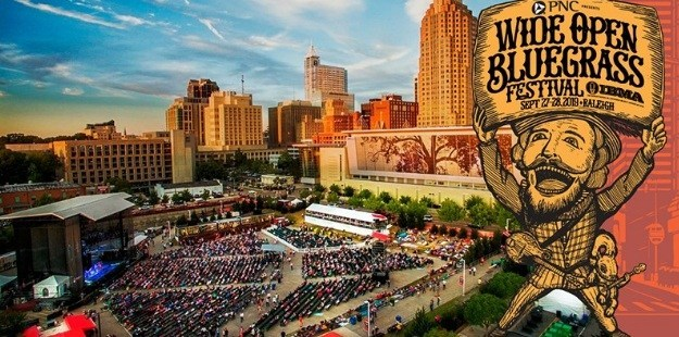 Wide Open Bluegrass Sweepstakes – Win Tickets