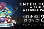 Gretna Heritage Festival Sweepstakes – Win Tickets