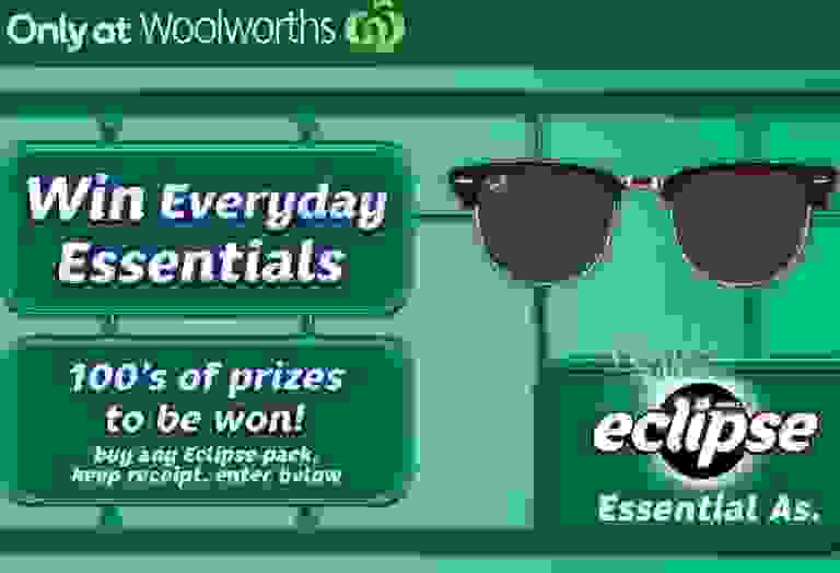Woolworths Eclipse Win Everyday Essentials Contest - Win Prizes