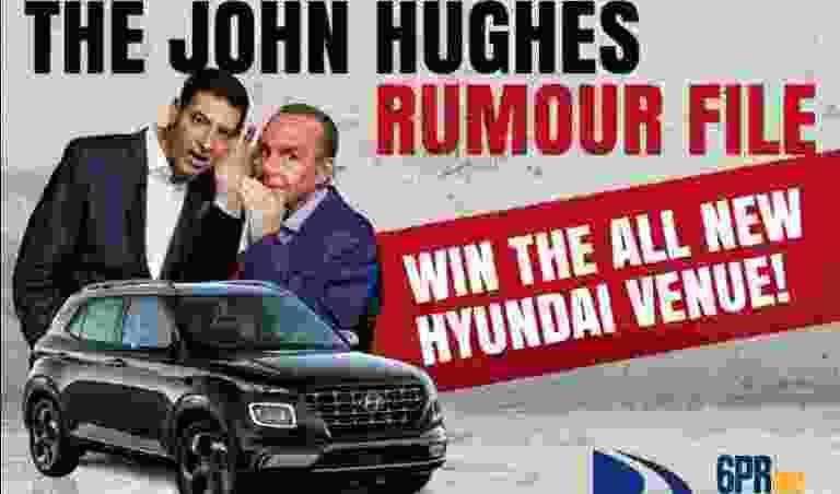 John Hughes Rumour File Contest - Win Cash Prize