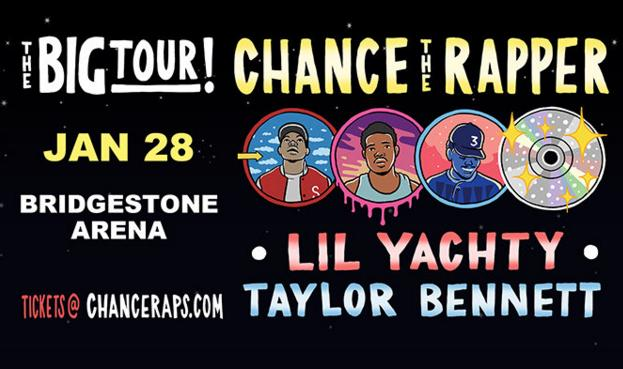 Chance The Rapper Online Sweepstakes – Win Tickets