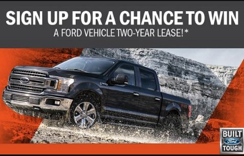 A Ford Vehicle Sweepstakes - Win Car